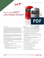 M85005-0131 -- VS1 64 Point Intelligent Fire Alarm Control Panel