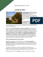 Aceite de Oliva-su Historia