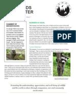 wildwoods newsletter october 2015