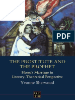 Sherwood Y., - The Prostitute and the Prophet