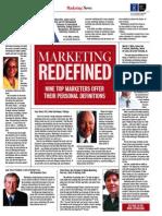 Marketing Redefined