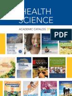 Health Science Catalog