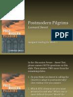 Postmodern Pilgrims Discussion
