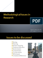 Methodologic Issues 2h