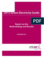 2015 Green Electrcity Guide Report