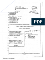 Wrongful Death Complaint - Mathes v PGE - Filed
