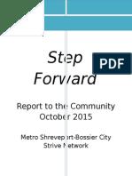 Step Forward 2015 report