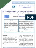 Enfoques y Modelos de Evaluacion E Learning