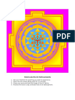 How to Use the Sri Yantra Properly | Electromagnetic Meditation Print-Out