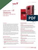 M85001-0279 -- Intelligent Manual Pull Stations