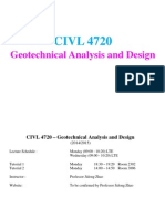 Geotehcnical Analysis