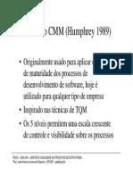 O Modelo de Qualidade CMM