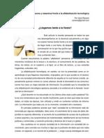 Alfabetizacion Tecnologica y Formacion Docente