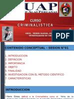 Criminalística I