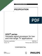 Philips UOCIII-V1.8 Manual Entrenamiento