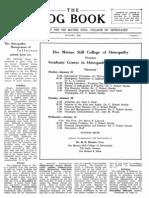 DMSCO Log Book Vol.23 1945