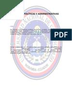 Ciencias Políticas y Administrativas