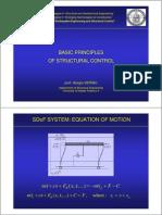 Structural Control Basics