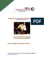 Programa de Formación de Inversores (PFI).-Introduccion