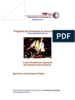 Programa de Formación de Inversores (PFI).-Invita