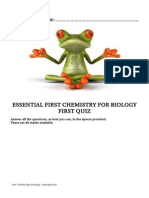 Firstbiochemquizz New
