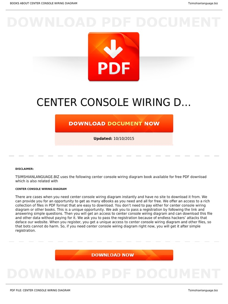 Work Www PDF s7 c Center-console-wiring-diagram | Manufactured Goods |  Electrical Engineering