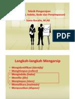 Pertemuan 12 - Praktek Pengarsipan (Klasifikasi, Kode Dan Penyimpanan)