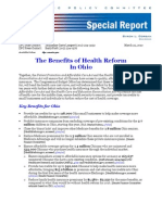 How Health Care Reform Will Benefit Ohio