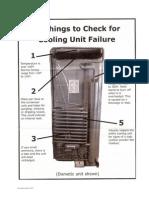Fallas en un equipo de refrigeración por absorción