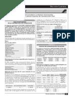Cálculos de Beneficios y Tributos Relacionados Al Régimen Laboral Especial de Construcción Civil