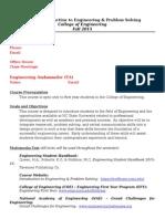 E101 Syllabus 2015