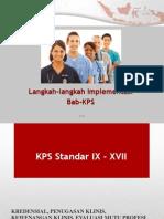 Langkah Implentasi Bab KPS,2 - Dr. Djoni Darmadjaja, SPB, MARS