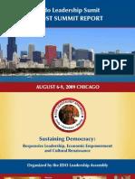 Edo Leadership Summit Report