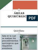Áreas quirúrgicas