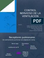 Control Nervioso de La Ventilación