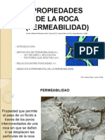 2 Propiedades de La Roca Permeabilidad Material