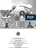 Livro de Receitas Manual Brinque e Aprenda