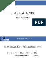 Calculo de TIR