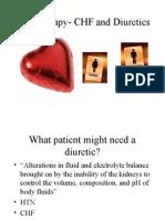 CHF Diuretics