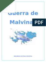 Trabajo - Guerra de Malvinas