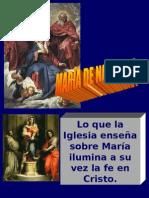 Mariz de Nazareth la Madre del Señor