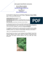 Superbamboo Against Desertification and Drought