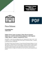 Commemorative Classic 2015 Press Release