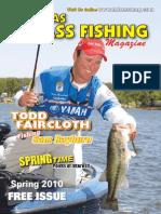 Texas Bass Fishing Mag Spring 2010