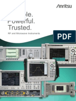 Reliable.powerful.trusted.rf and Microwave Instruments