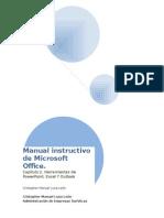 Manual Instructivo de Microsoft Office II Excel Etc.