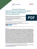 Dynamic Characteristics on Composite Foundation