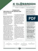 Ideas for Effective Online Instruction_Sept, 2012