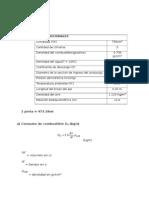 Estudio de procesos de admision y formacion de mezcla