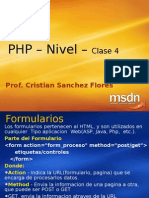 PHP n1 -Clase4 Formularios